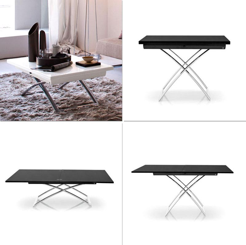 Coffee Table Convertible to Dining