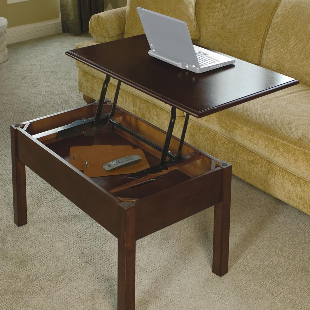 Coffee table desk convertible coffee table design ideas for Table description