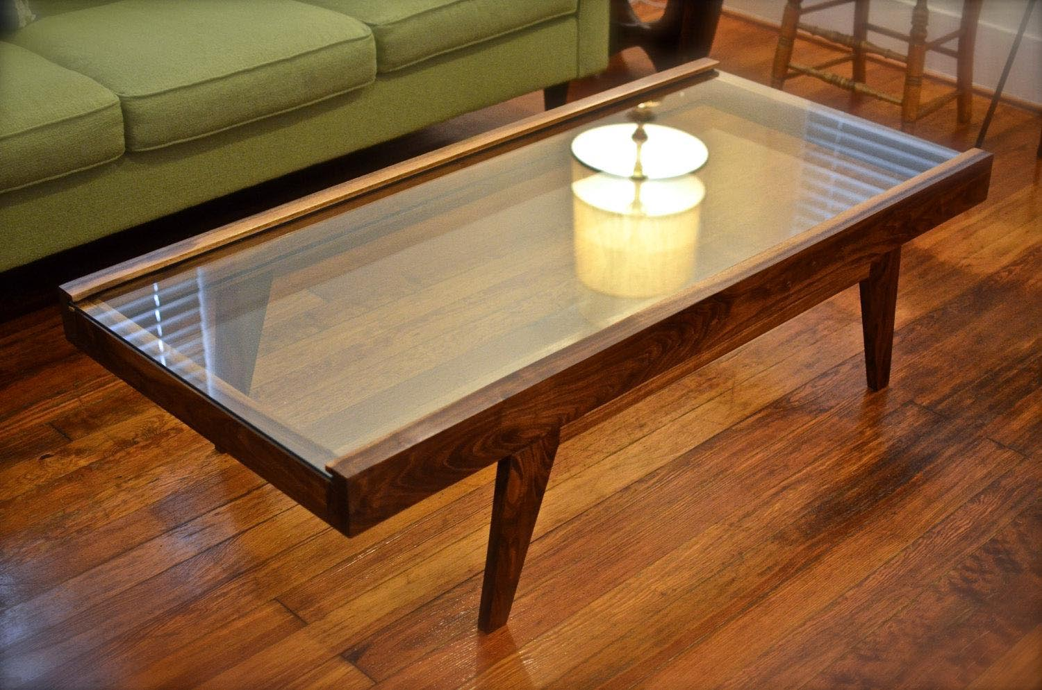 Coffee Table Glass Display