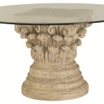 Coffee Table Pedestal Base