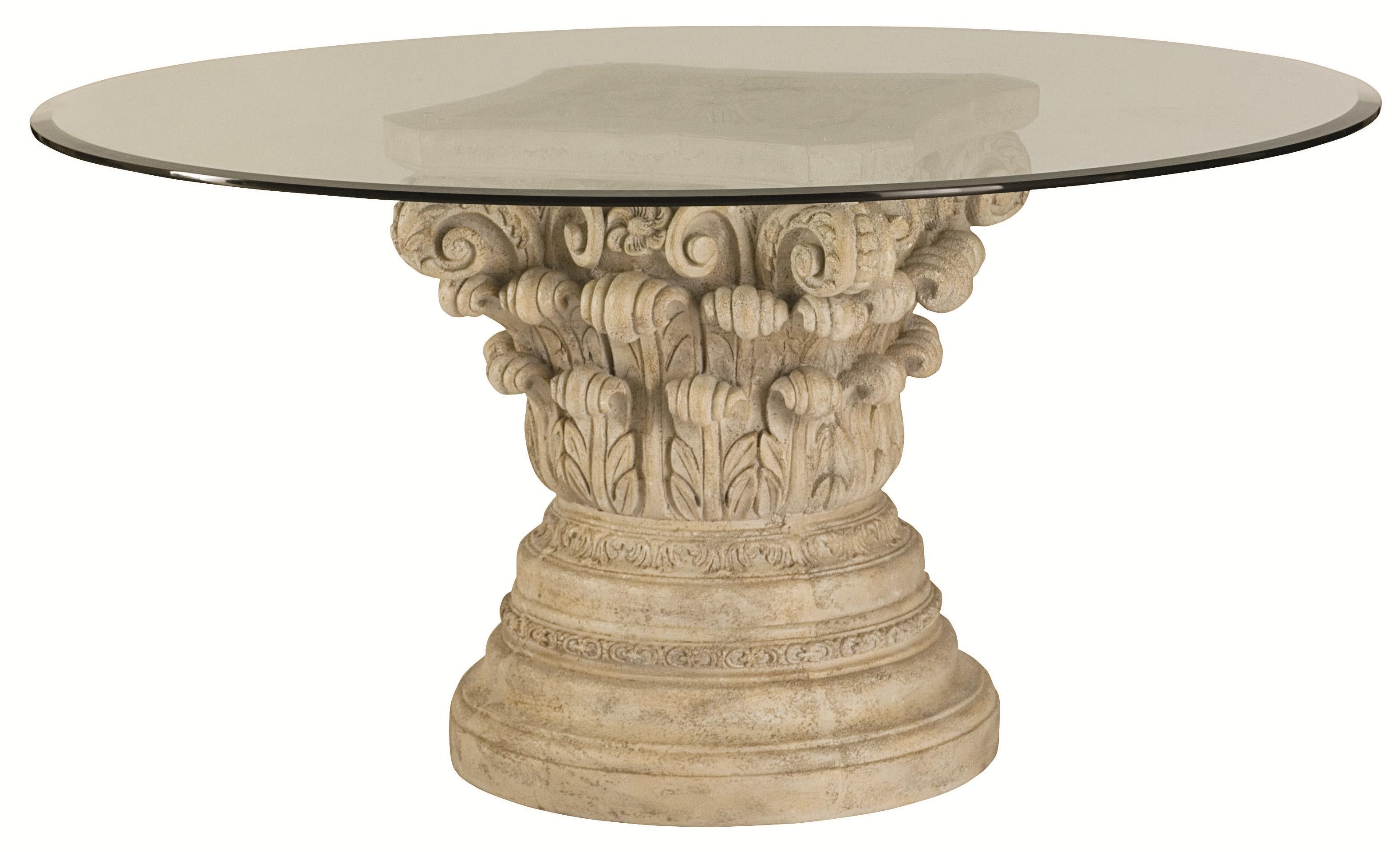 Coffee table pedestal base coffee table design ideas Bases for coffee tables