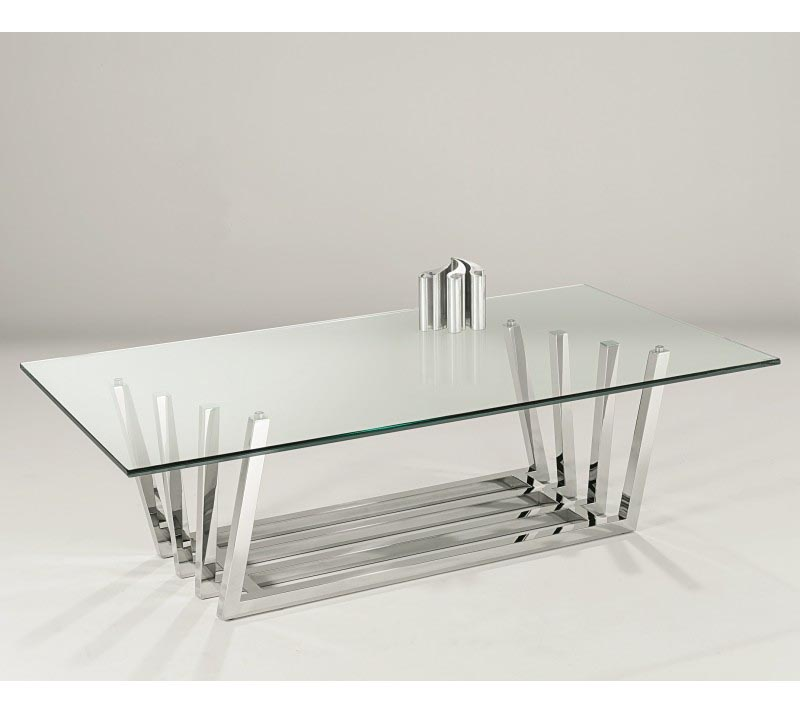 Coffee Table Stainless Steel Legs