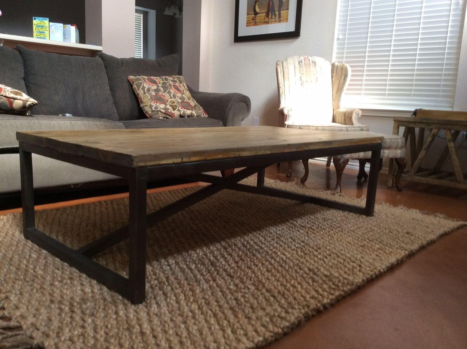 Coffee Table Steel Frame Coffee Table Design Ideas
