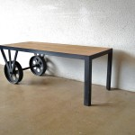 Coffee Table Wheels Industrial