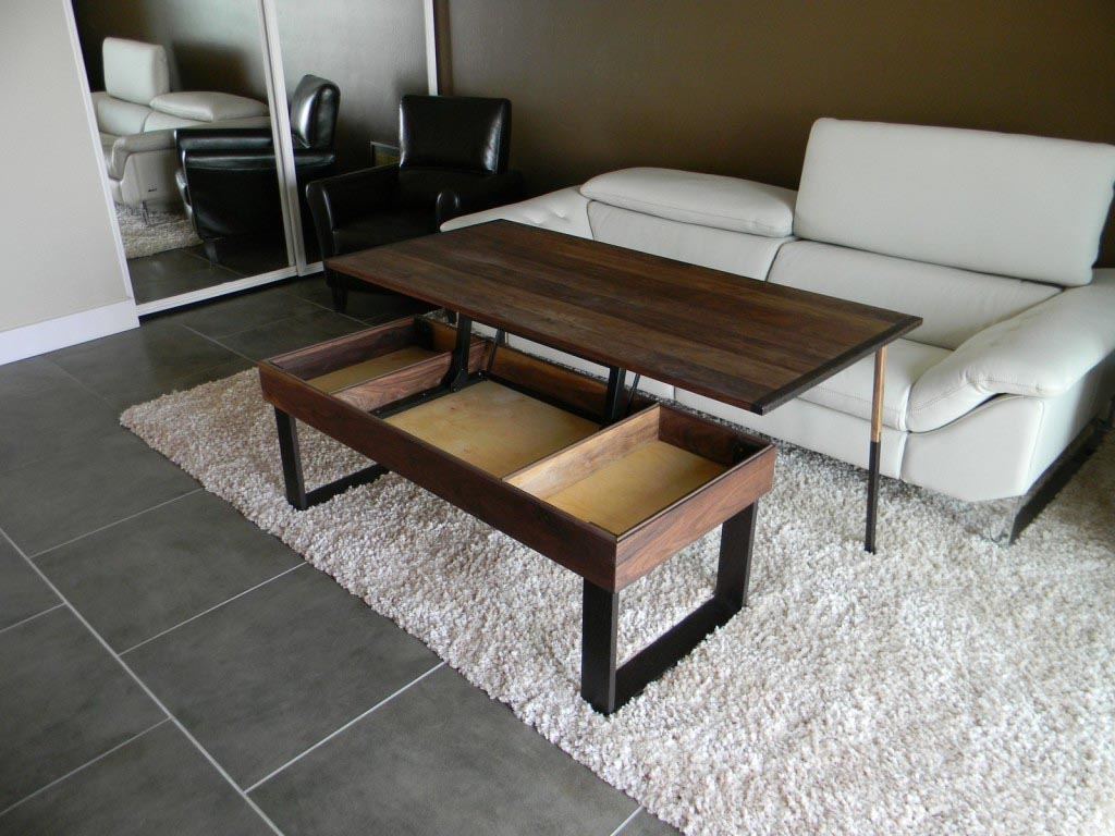 Coffee Table With Adjustable Height Coffee Table Design