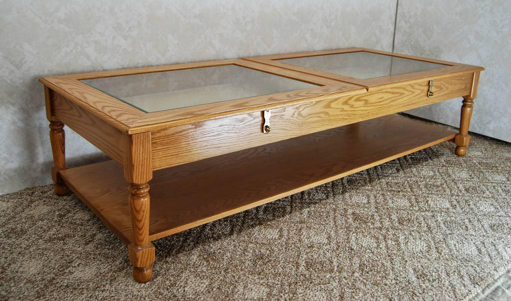 Coffee Table with Display