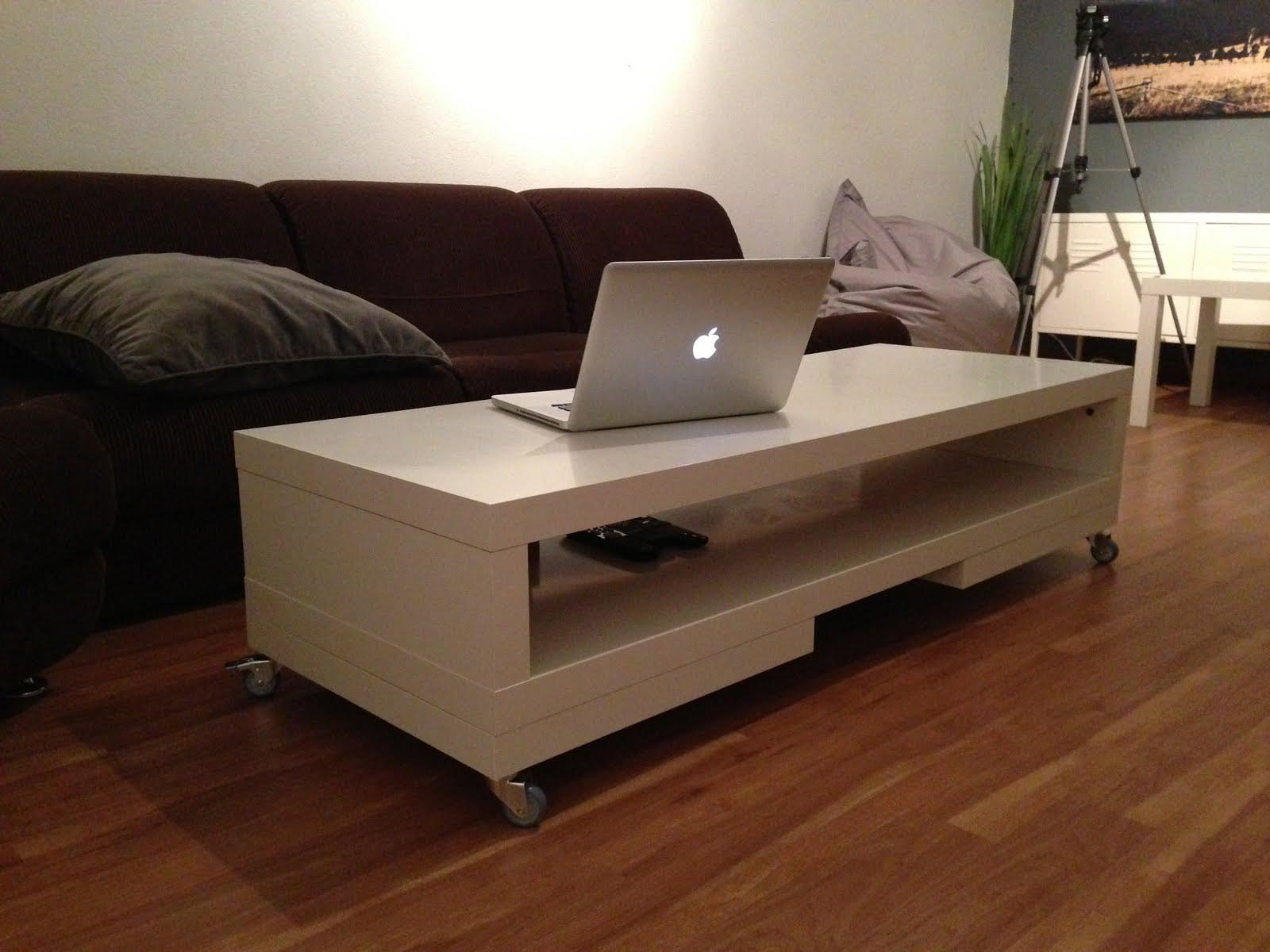 Coffee Table With Wheels IKEA Coffee Table Design Ideas