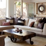 Coffee Table with Wheels Pottery Barn