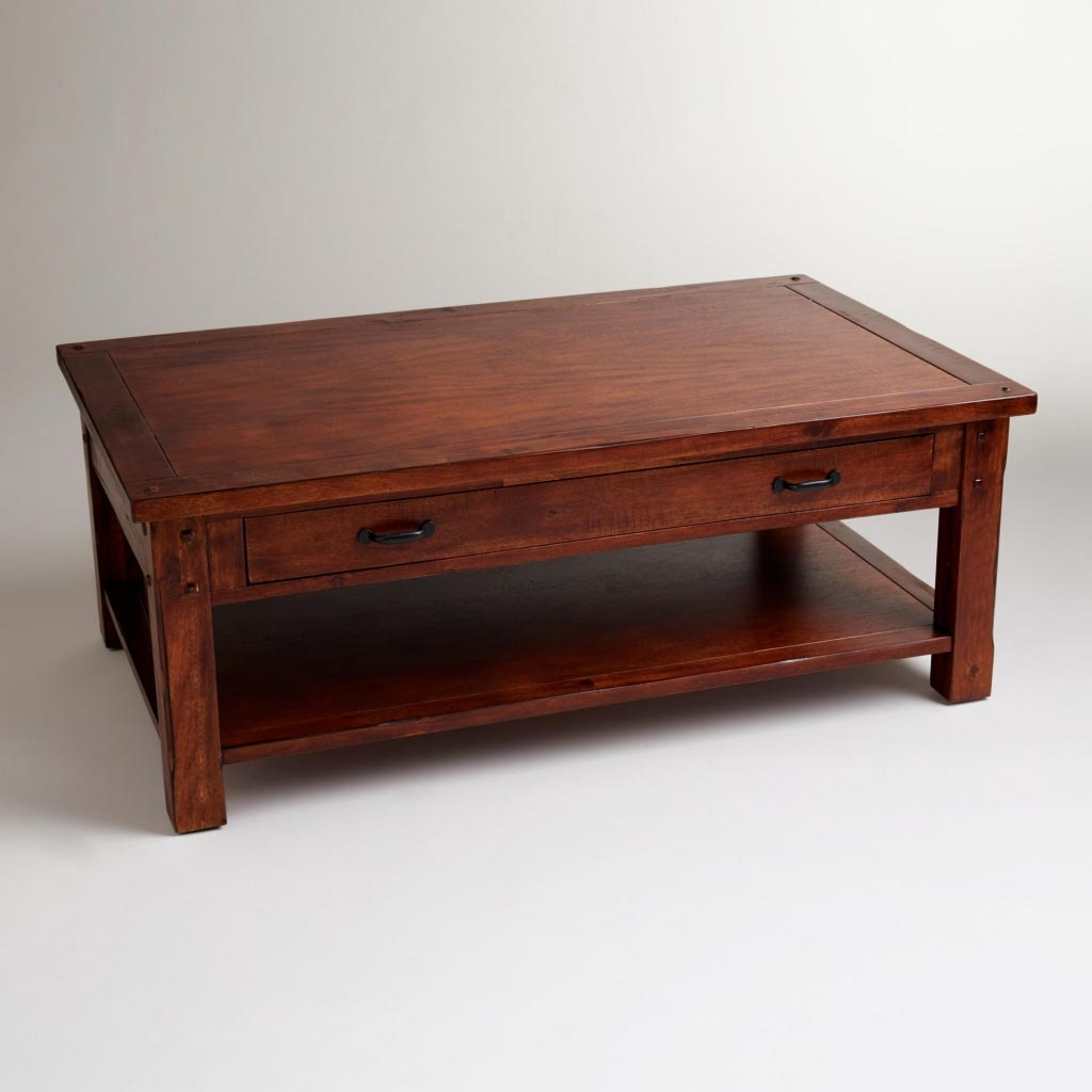 Coffee tables mahogany wood coffee table design ideas for Wooden table design