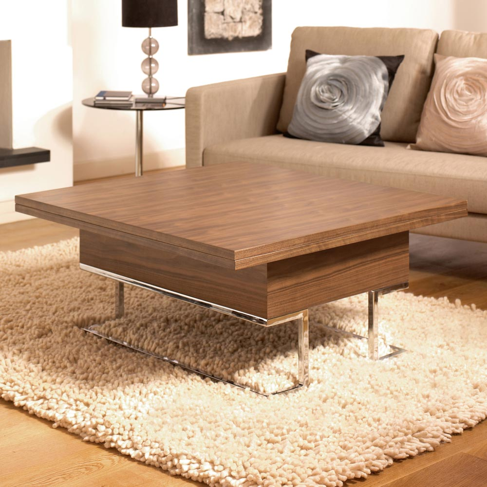 Convertible coffee table by dwell coffee table design ideas Coffee table to dining table