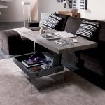 Convertible Coffee Table Desk