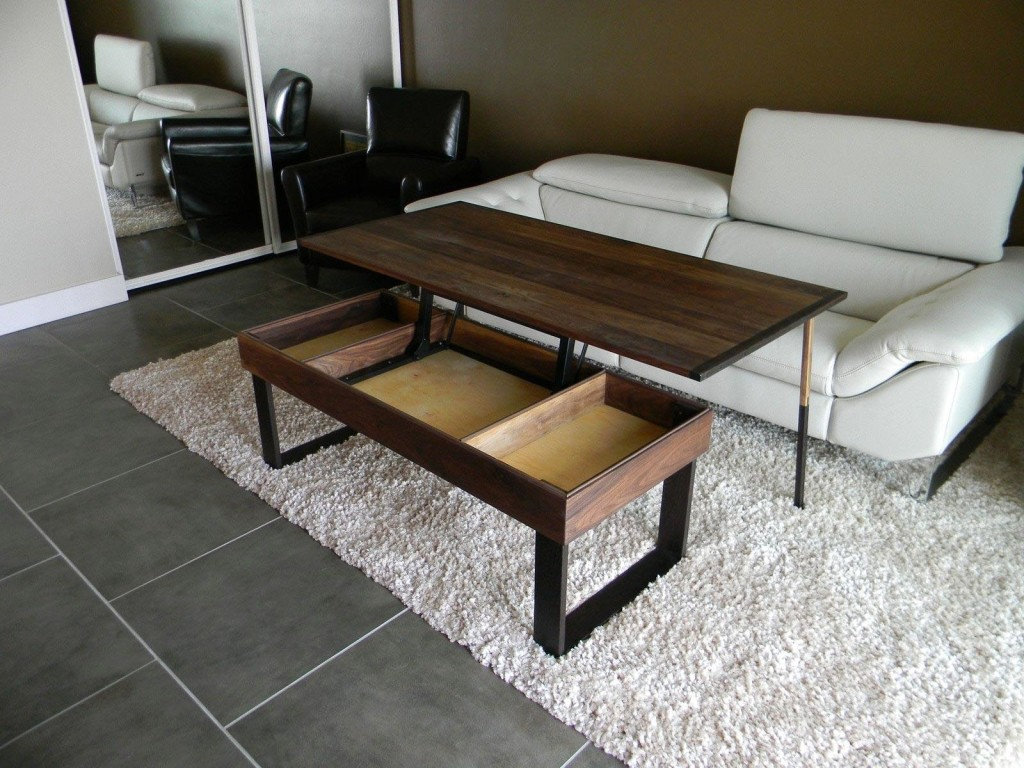 Convertible Coffee Table to Dining Table IKEA