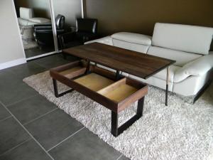 Vintage castro convertible coffee table coffee table - Table convertible ikea ...