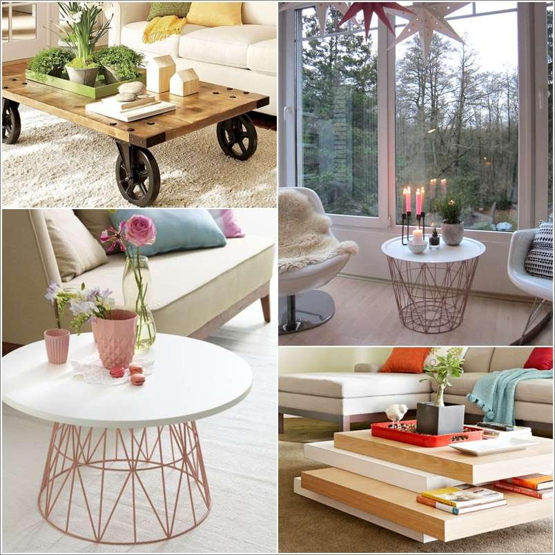 Cool coffee tables diy coffee table design ideas for Cool coffee tables diy