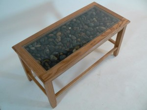 Custom Glass Coffee Table