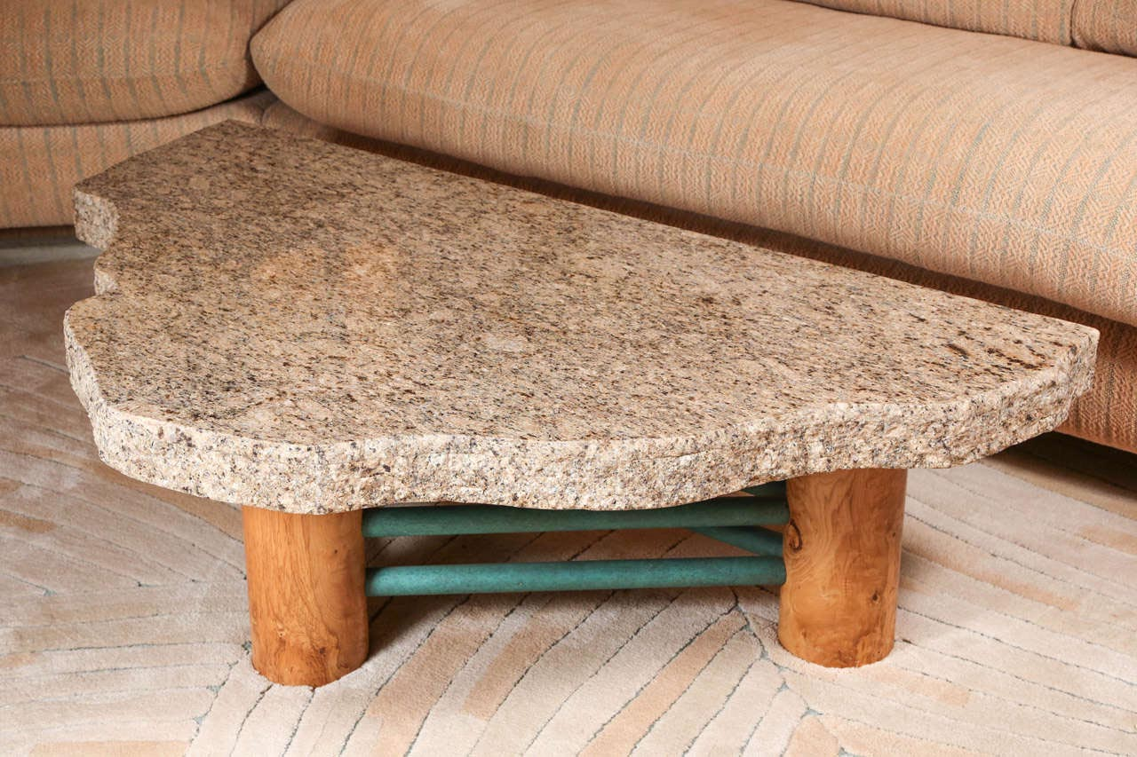 Custom granite coffee table coffee table design ideas Granite coffee table