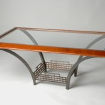 Custom Made Glass Coffee Table