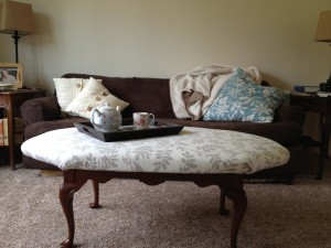 Custom Made Ottoman Coffee Table