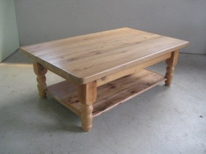Custom Oak Coffee Table