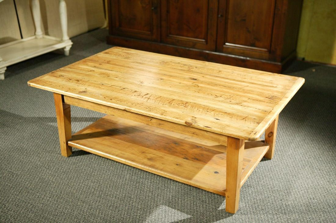 Custom wood coffee table coffee table design ideas for Wooden table designs images