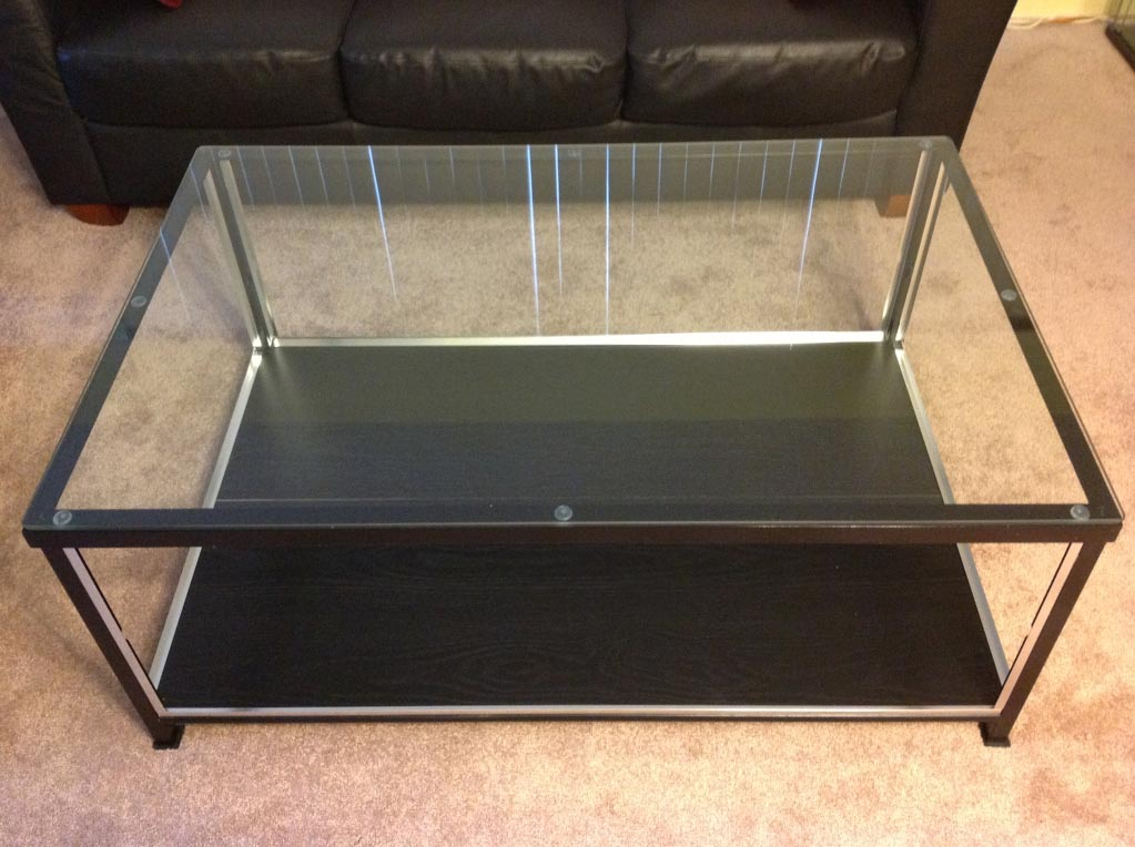 Display coffee table unmatched furniture creation coffee table design ideas Display coffee table with glass top