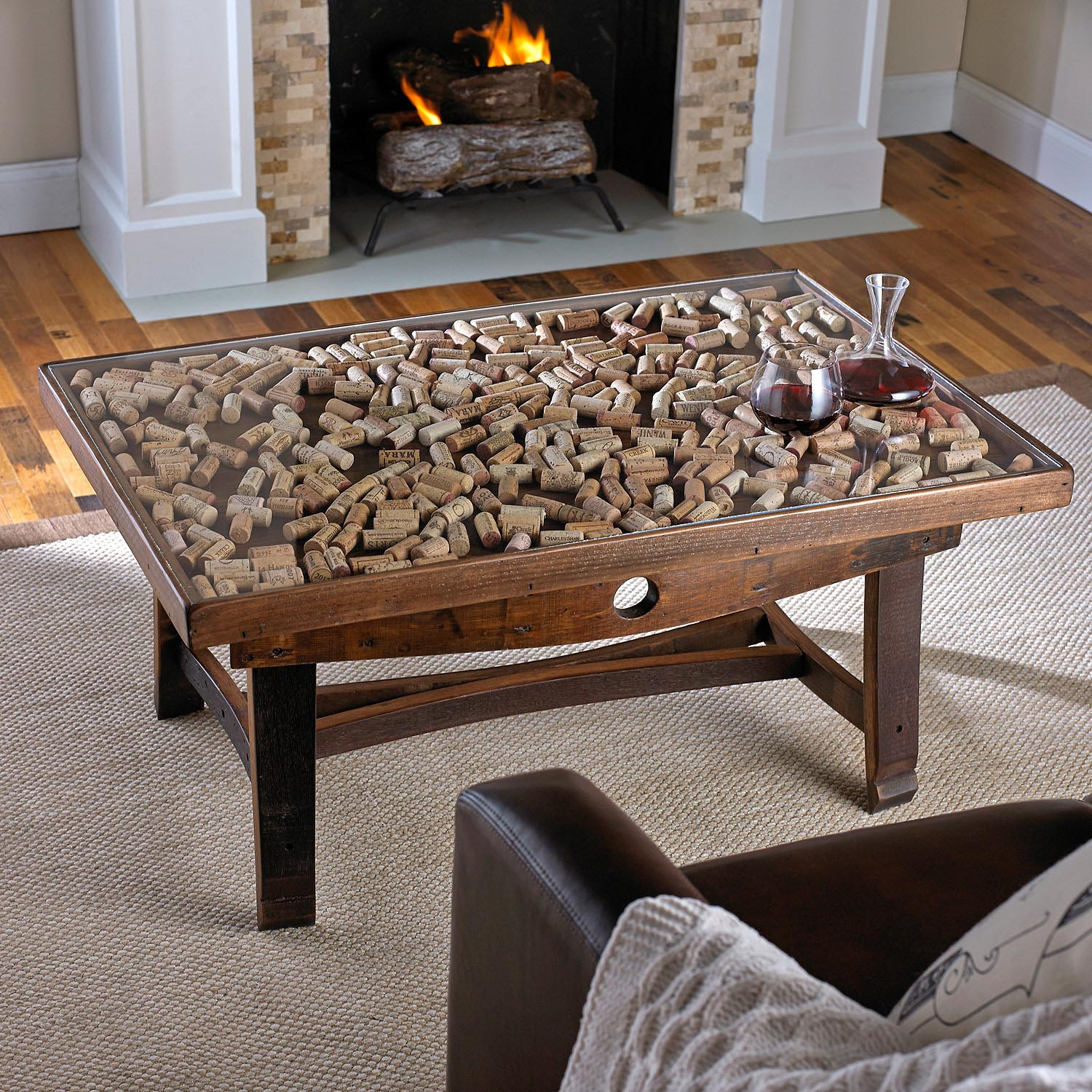Display Top Coffee Table Design Ideas