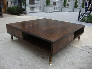 DIY Mid Century Modern Coffee Table