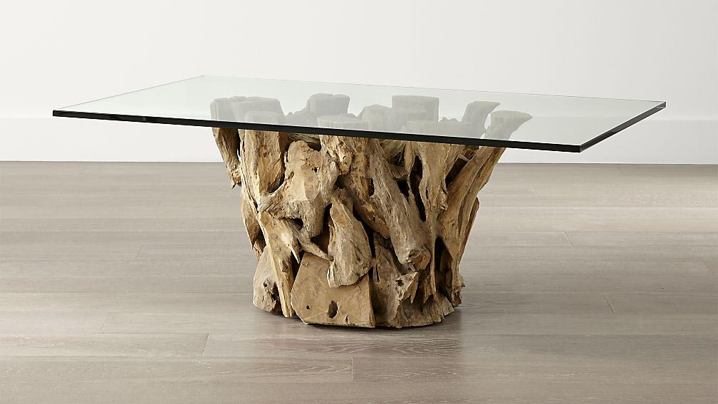 Driftwood Coffee Table Base