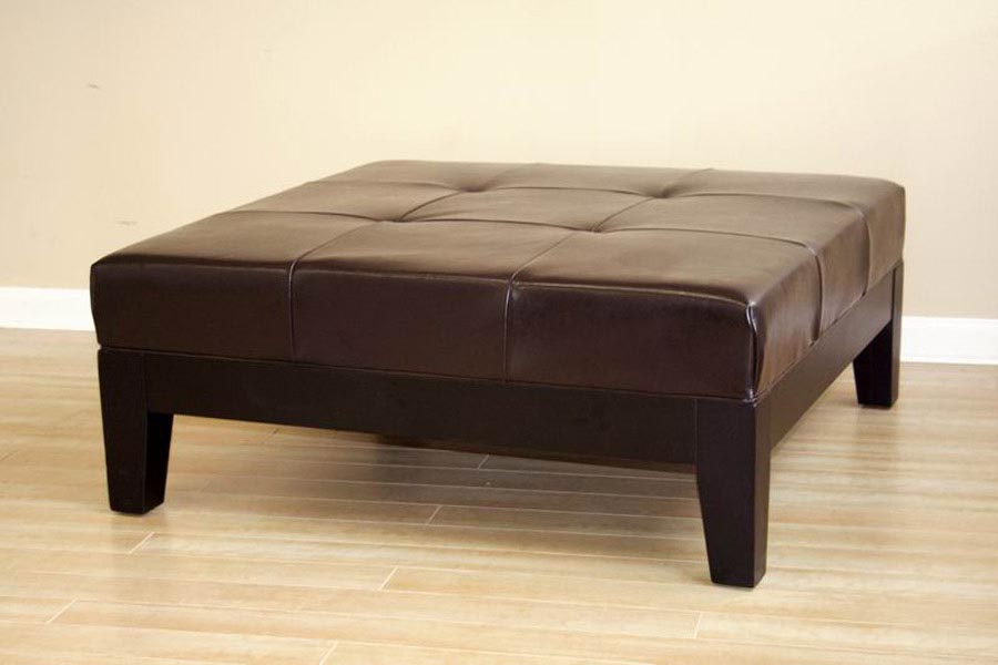 Faux Leather Coffee Table