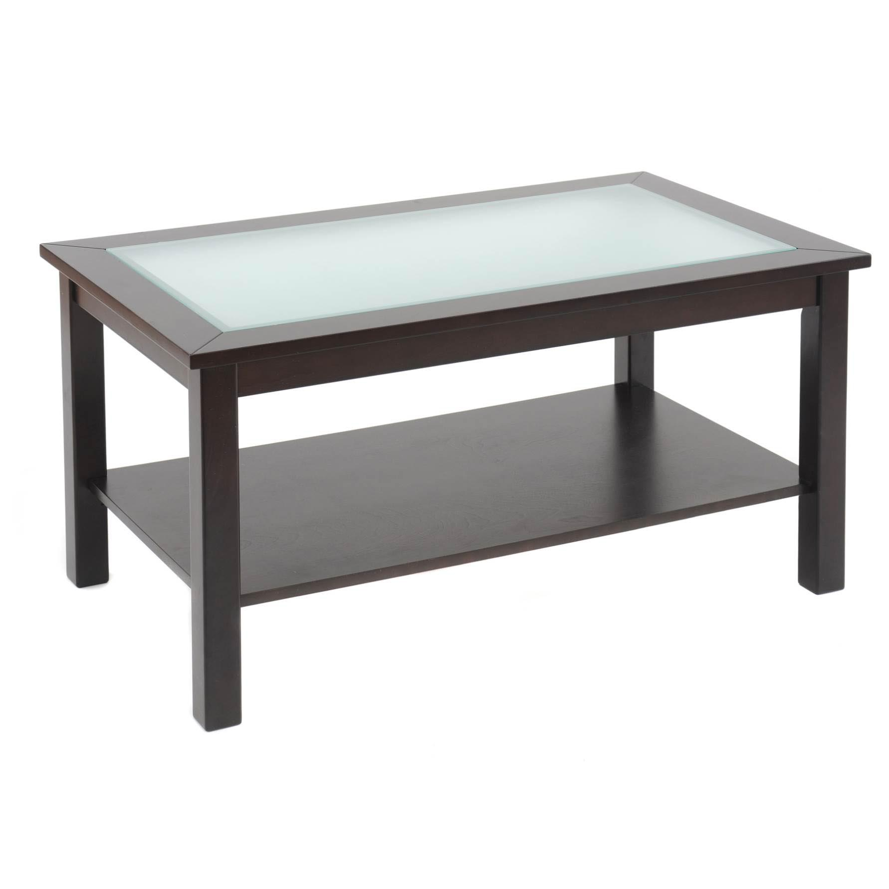 Glass display coffee table ikea coffee table design ideas Espresso coffee table