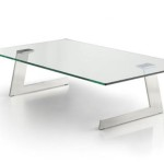 Glass Modern Coffee Table