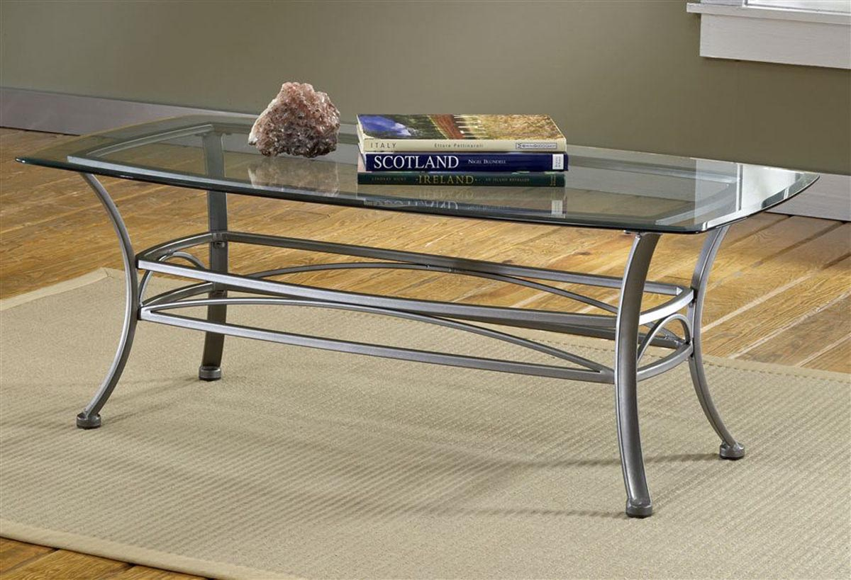 Glass Steel Coffee Table