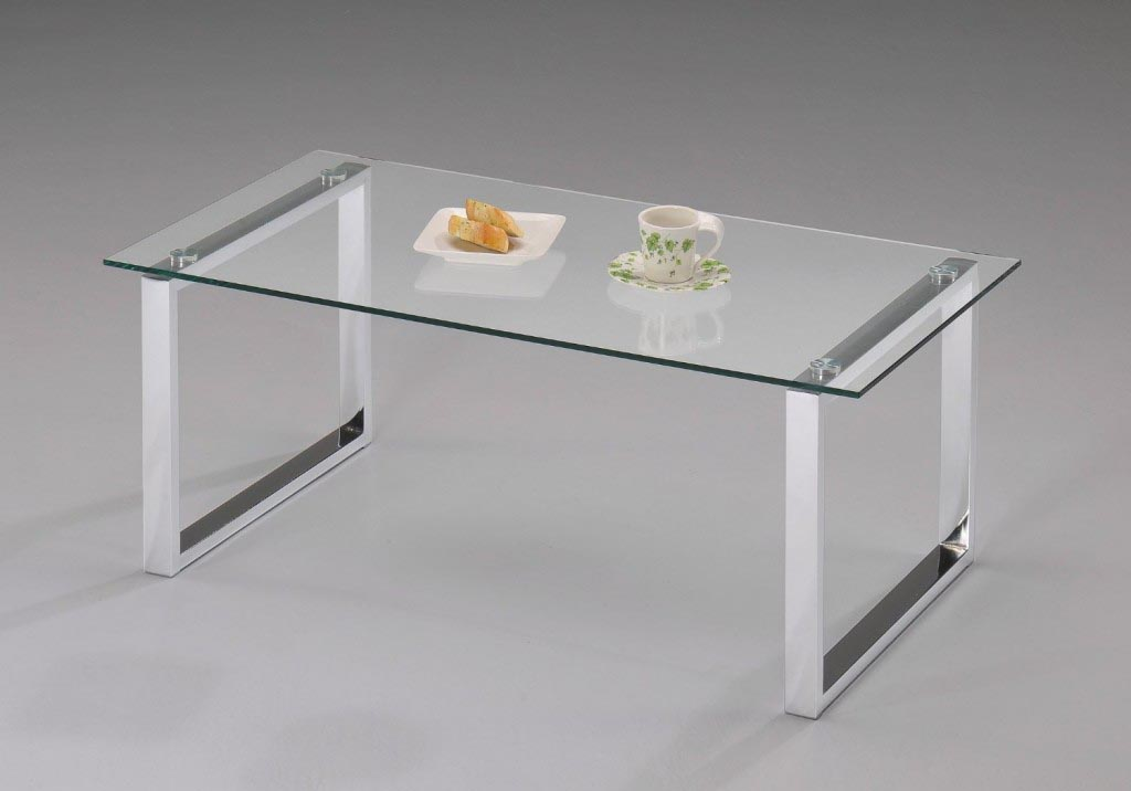 Glass top coffee table with metal base coffee table design ideas Bases for coffee tables