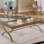 Gold Coffee Table Sets