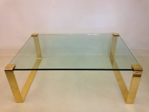 Gold Glass Coffee Tables