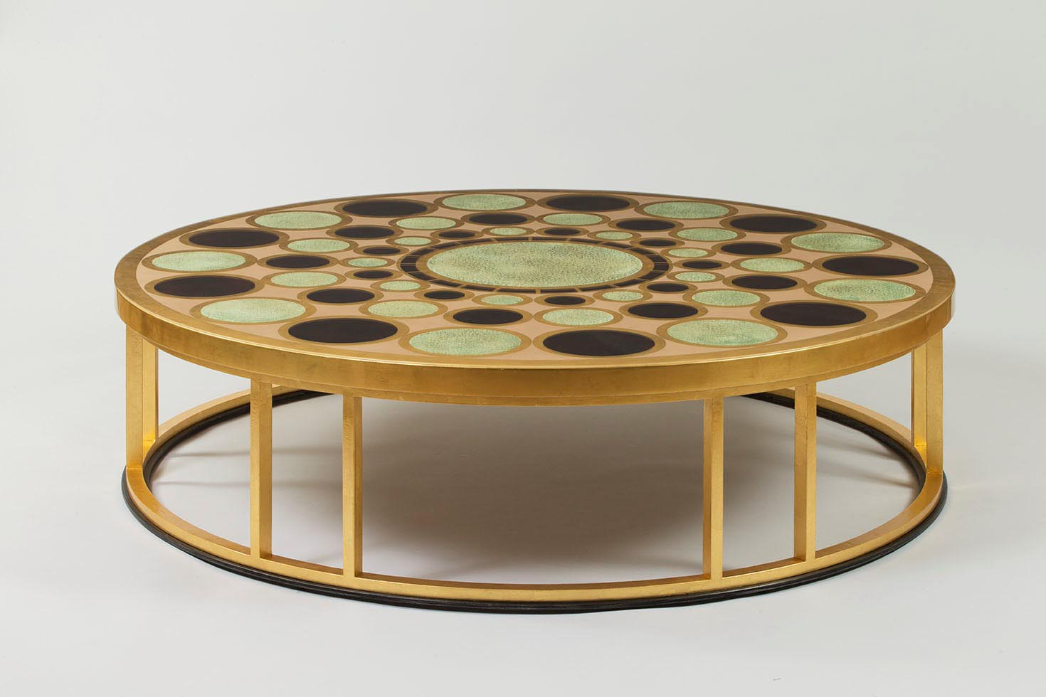 Gold Leaf Coffee Tables