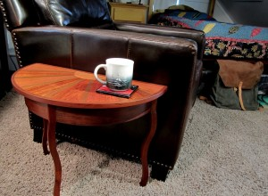 Half Circle Coffee Table