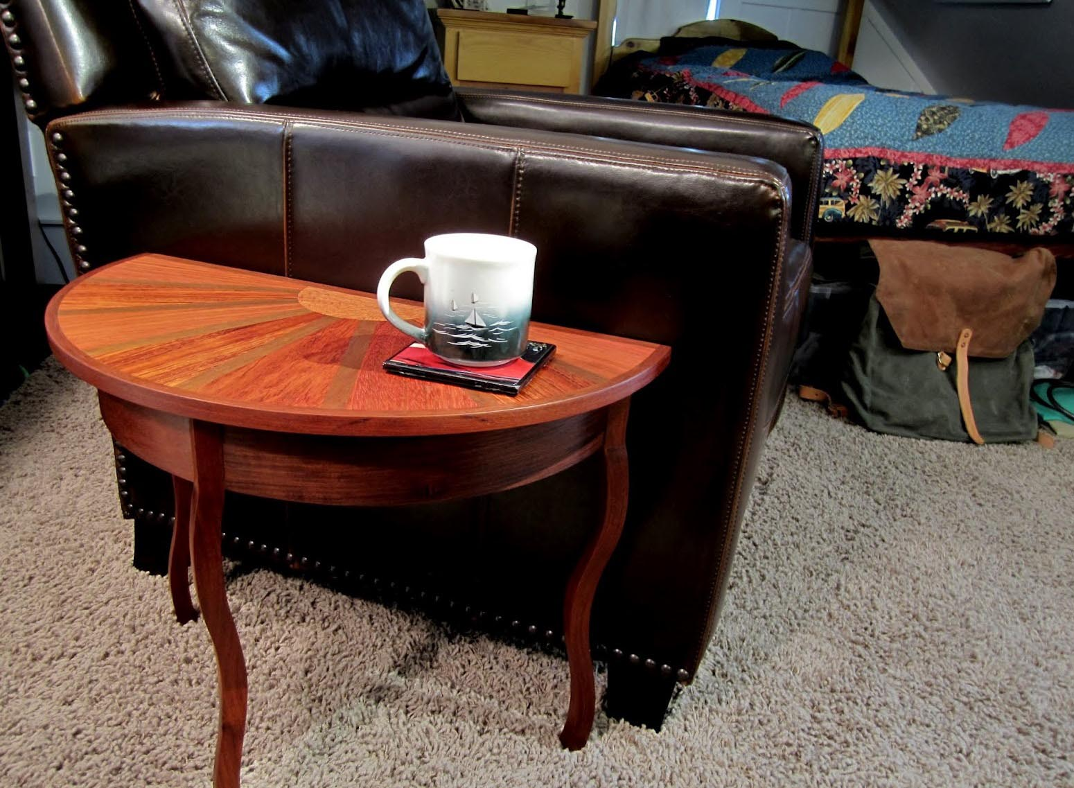 Half Circle Coffee Table