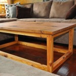 Heart Pine Coffee Table