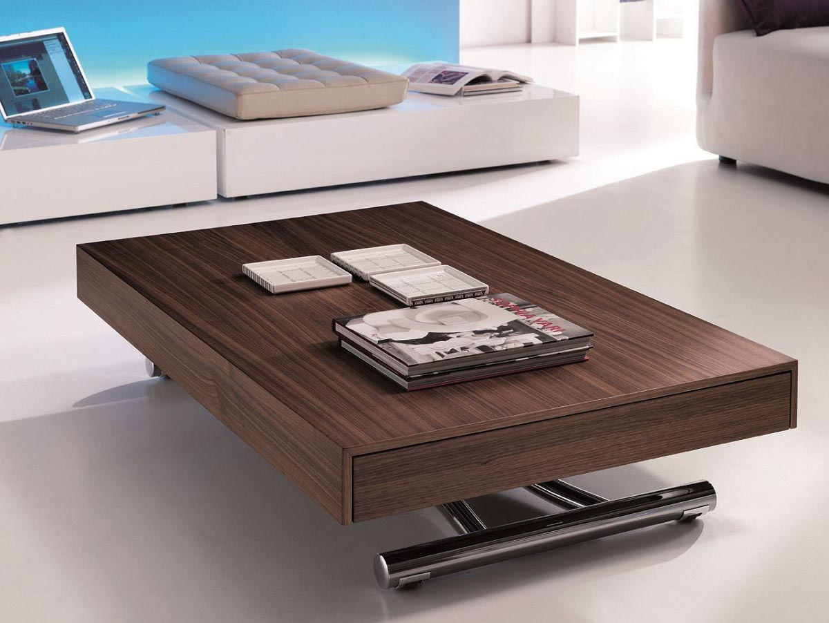 Height Adjustable Coffee Table