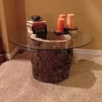 Hollow Log Coffee Table
