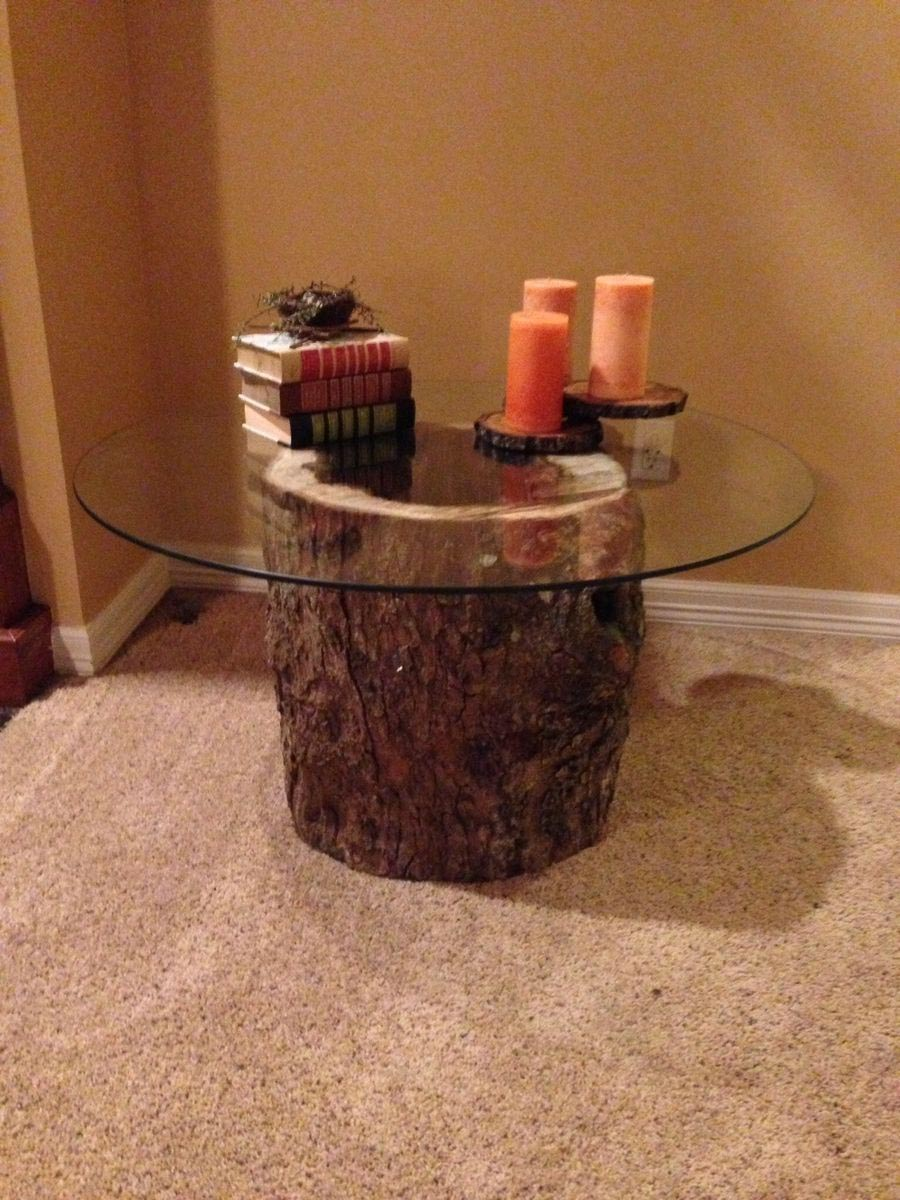 Hollow Log Coffee Table