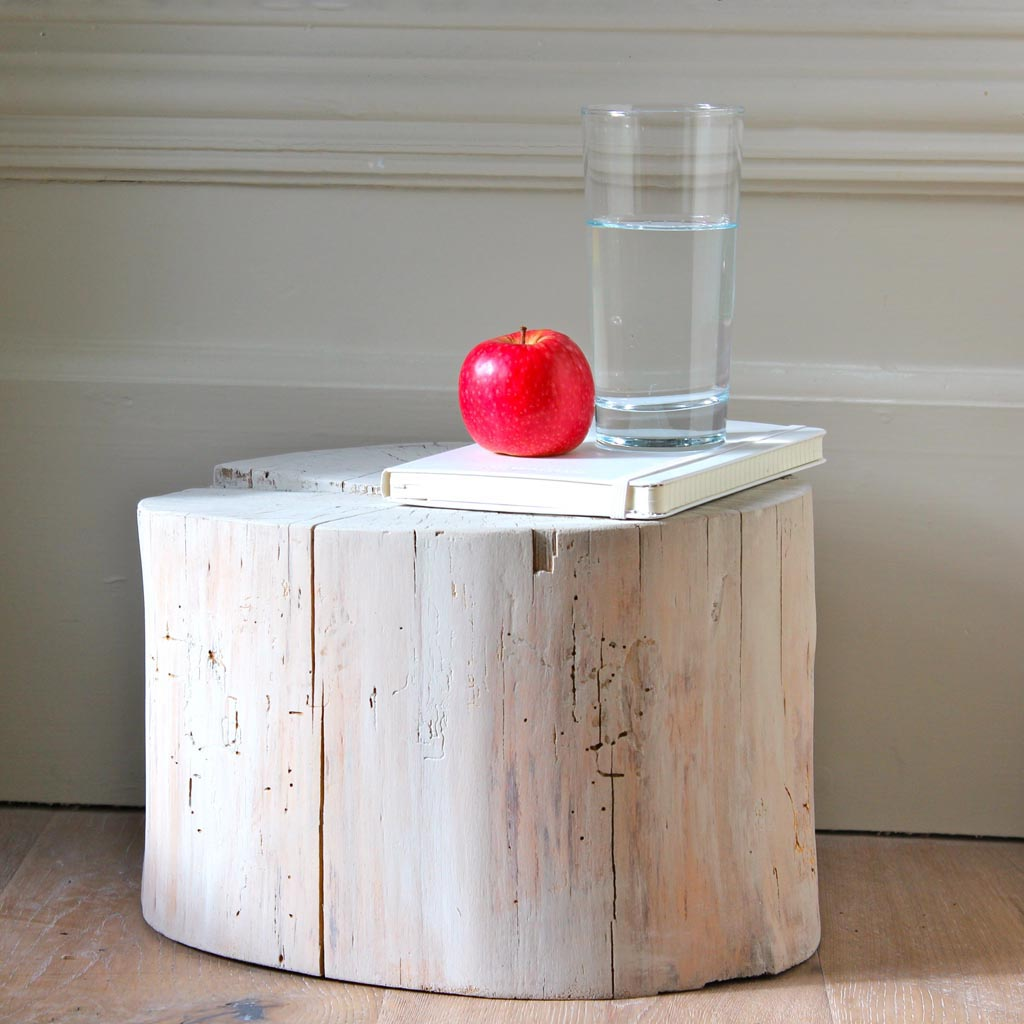 How to Build a Log Coffee Table