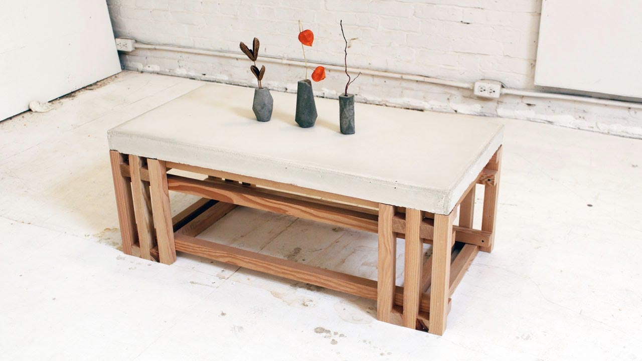 How to Build a Wood Slab Coffee Table