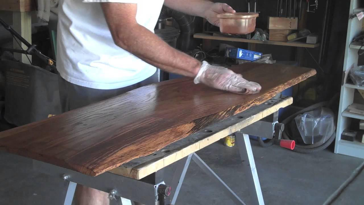 How to Make a Log Coffee Table