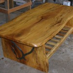How to Make a Wood Slab Coffee Table