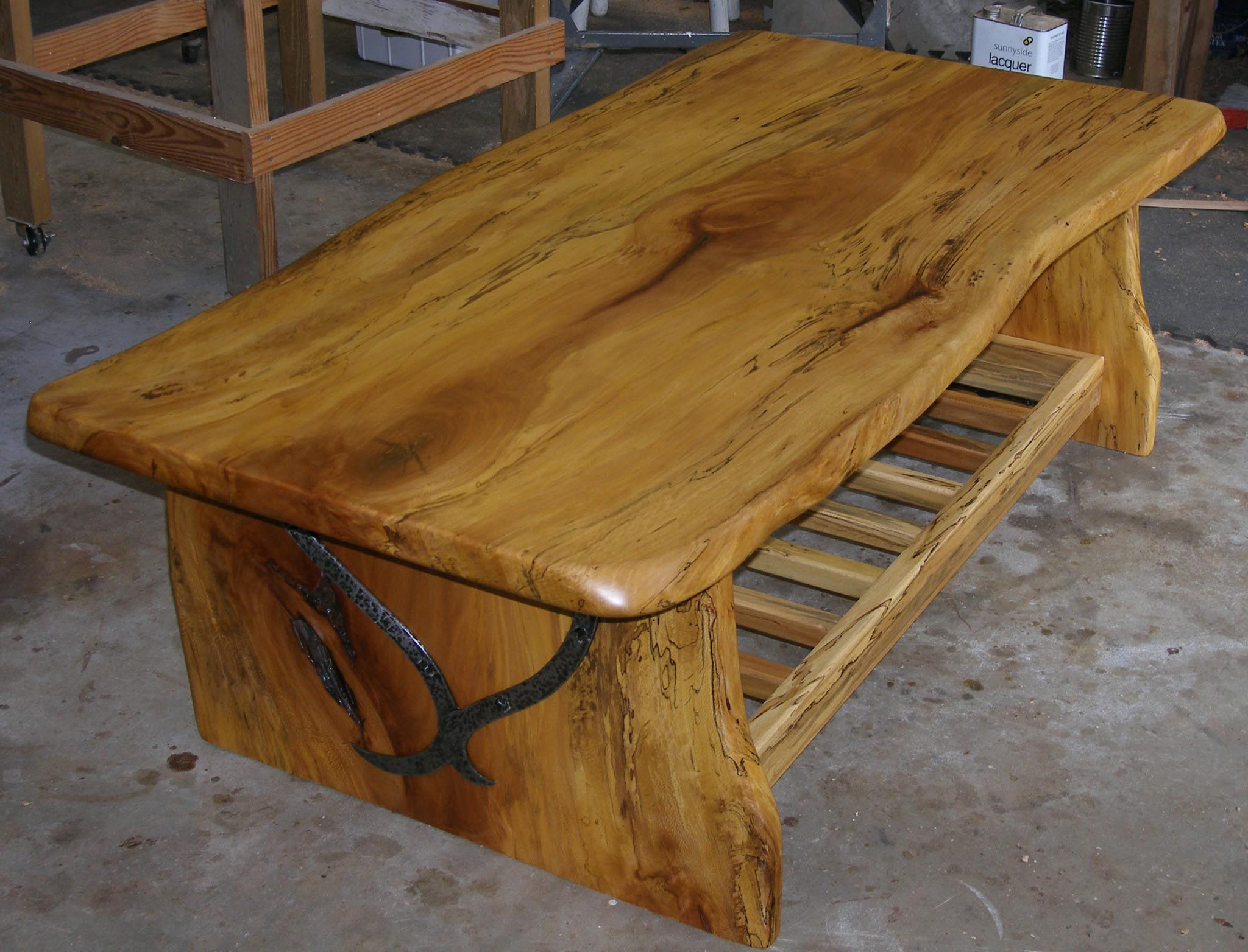 How To Make A Wood Slab Coffee Table Coffee Table Design Ideas