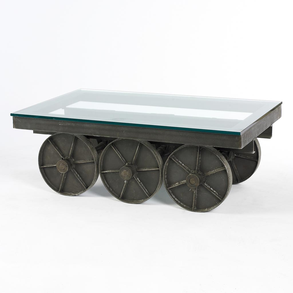 Industrial Coffee Table With Wheels Coffee Table Design Ideas