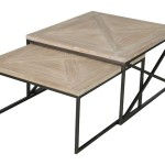 Iron Base Coffee Table