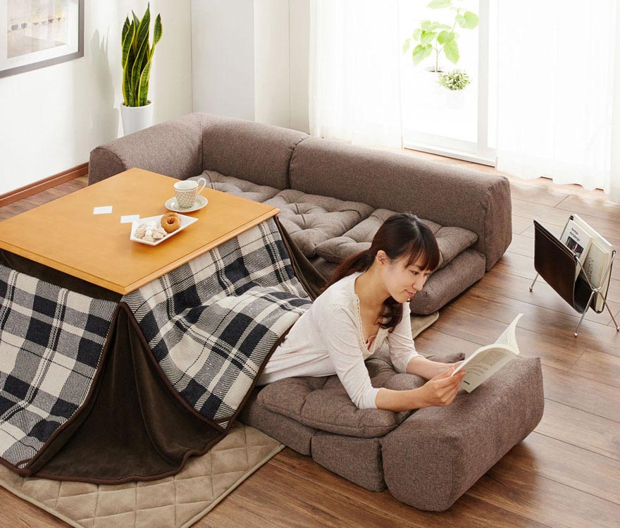 Anese Coffee Table With Heater